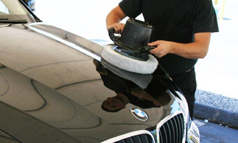 car grooming buffing